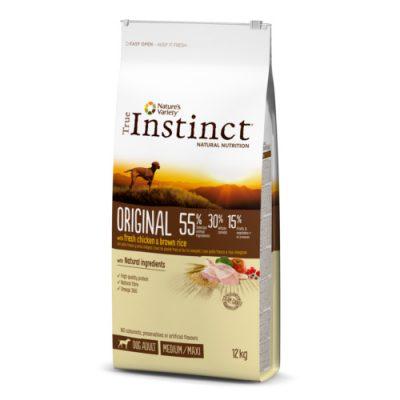 True Instinct Original pollo y arroz integral
