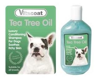 VITACOAT TEA TREE OIL champú pieles sensibles