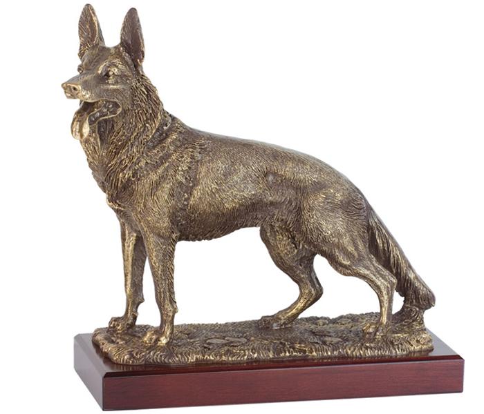 Trofeo primer clasificado I campeonato de perros detectores